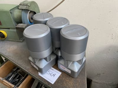 HOLEX Lot of milling cutter tool holder SK 50