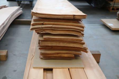Lot of fir thick veneer