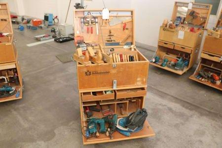 HÄFELE SCHLAUMEIER TISCHLER Workshop toolbox