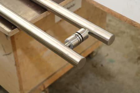 Lot of glass door handle bars