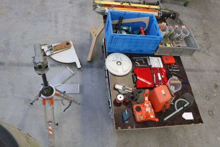 Lot of measuring tools