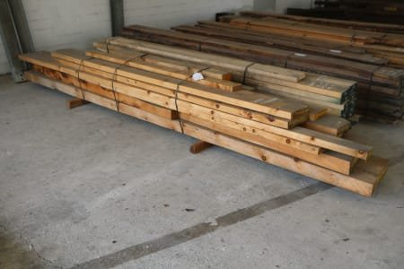 Lot of solid wood pine