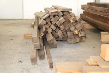 Lot of solid wood/ scantlings wenge