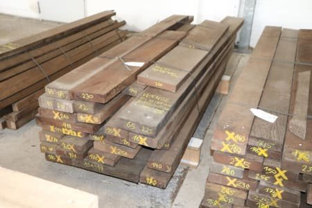 Lot of solid wood wenge