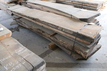 Lot of solid wood french walnut