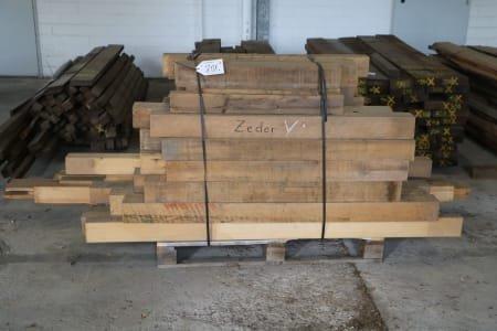 Lot of solid wood cedar