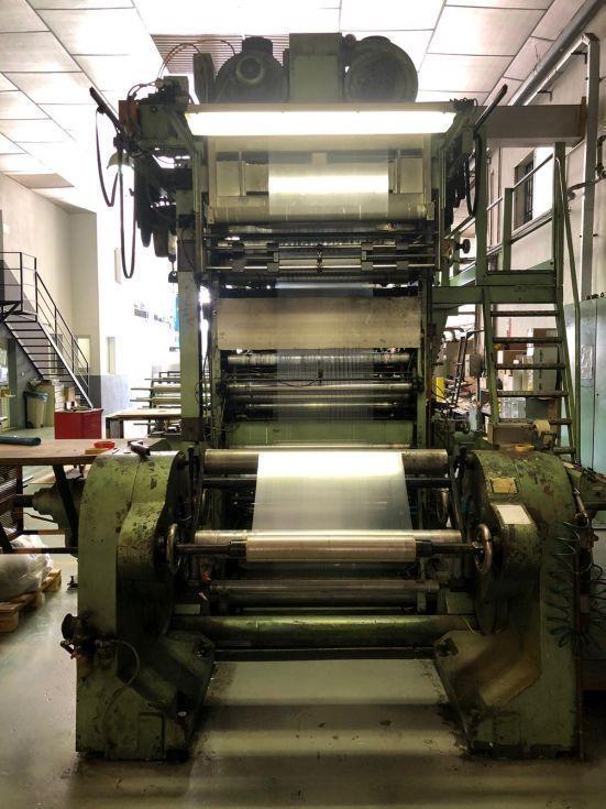 impresora flexografica tambor central
