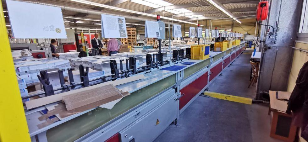 Cosedoras alzadora/book sewing line