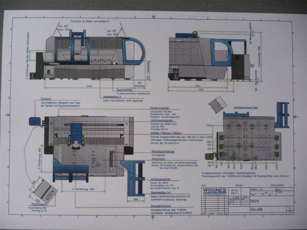 Fresadora Vertical CNC