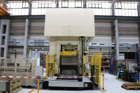 Prensa de hidroconformado hidráulica SIEMPELKAMP 1250