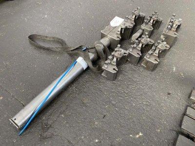 MULTIFIX Lot of tool holder/quick-change holder