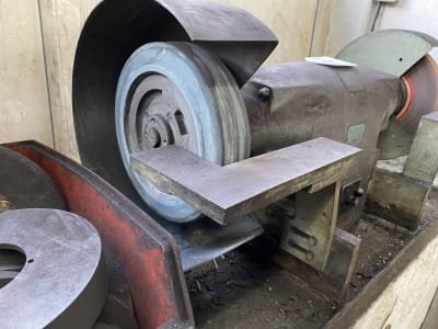 BAYER GB 8-60 Double bench grinder