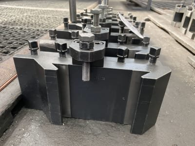 Lot of quick-change tool chuck for lathes