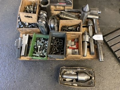 Lot of tools and accessories for lathes