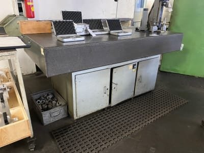 WENZEL Measuring table with granite top