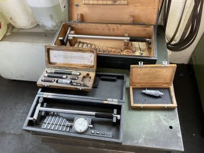 ULMER Workshop drawer cabinet with contents