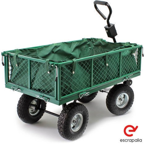 Remolque jardinero 300kg (Nuevo)