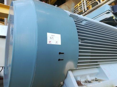 Motoventilador ABB de aire primario - Lote 163.