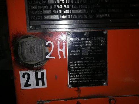 MOTOCOMPRESOR GE 270 KW - Lote 171