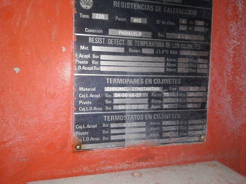 MOTOBOMBA GE 600CV - Lote 168