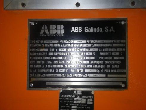 MOTOBOMBA ABB 2500CV - Lote 32