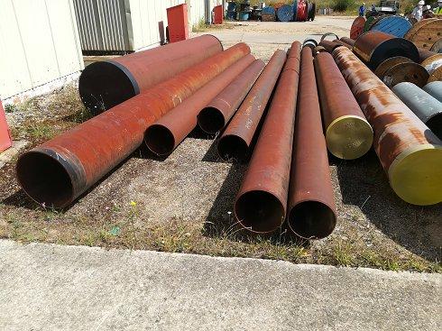 31 toneladas de tubos de Acero al Carbono