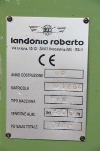 LANDONIO PRC Multiple sanding machine