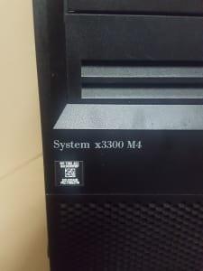Server System IBM 3300 M4