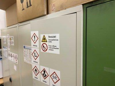 LISTA 2-doors metal workshop cabinet