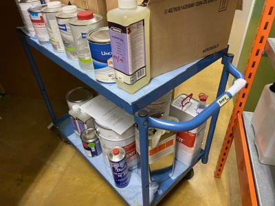 FETRA Mobile shelf trolley