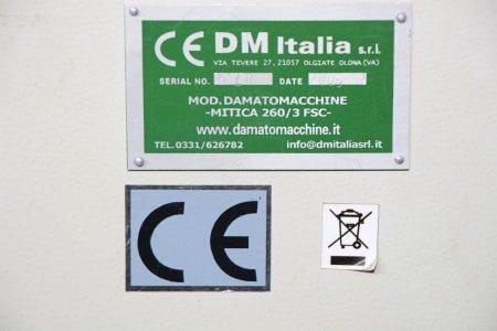 DAMATOMACCHINE MITICA FSC 260 Combined