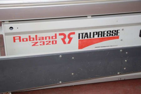 ITALPRESSE Z 3200 Sliding table saw