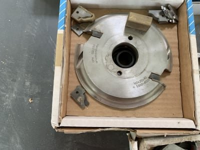Lot of milling cutters