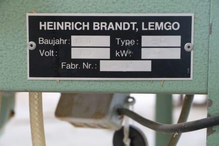 BRANDT F 10 Edge milling machine
