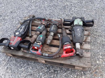 Lot of Pneumatic Hammers