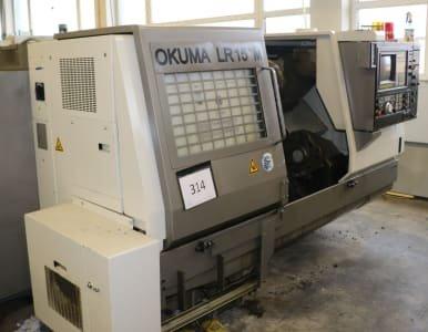 Torno CNC OKUMA LR 15-M