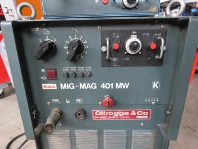 Soldadora ESS 401 MW + DVK MIG MAG