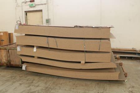 SAIB Lot of Melamine Panels (110)