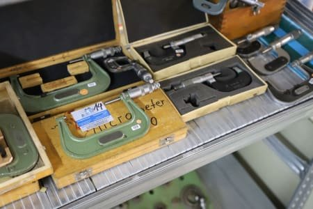 Lot of Outside Micrometers