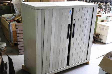 Sliding Door Cabinet without Content