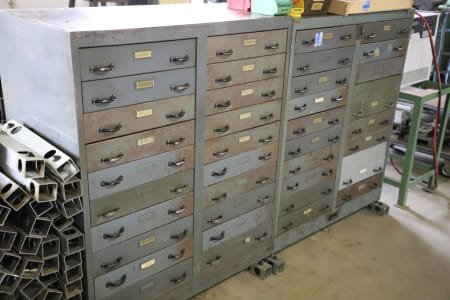 Lot of Workshop Drawer Cabinets without Content