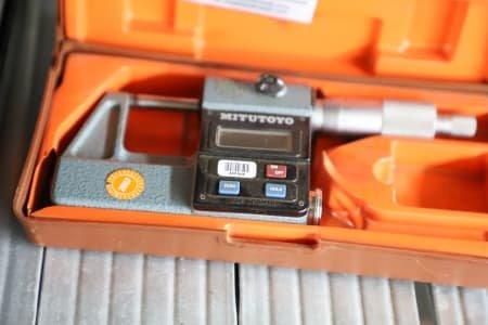 MITUTOYO Lot of Digital Micrometer Gauges