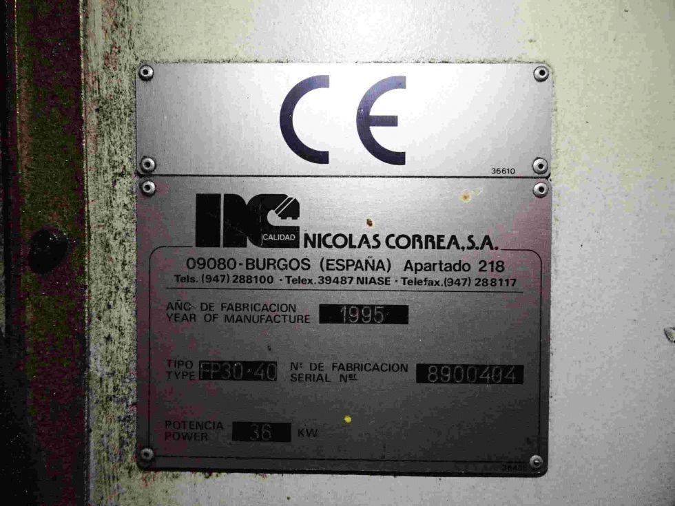 Fresadora puente CNC