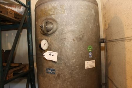 SCHRÖTER 1000 L Pressure vessel
