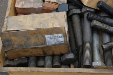 Heavy duty machine screws