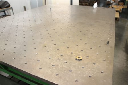VEB Surface plate