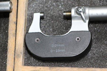PREISSER 4 stirrup micrometer screws