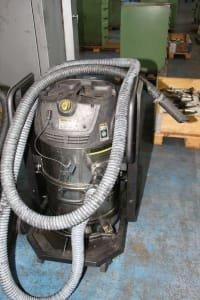 2 industrial vacuum cleaners