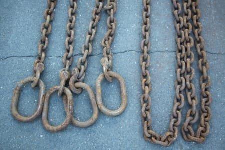 2x Chain Slings