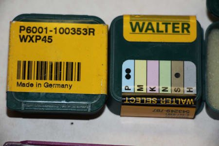 WALTER Indexable Inserts